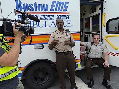 Boston EMS Ambulance A15 + EMS Chevy Tahoe